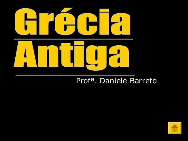 Profª. Daniele Barreto