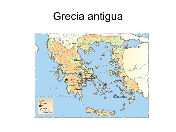 Mapa Mudo Grecia Antigua.Grecia Antigua