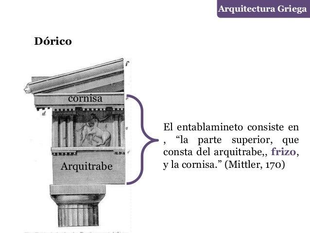 Grecia arquitectura for En que consiste la arquitectura