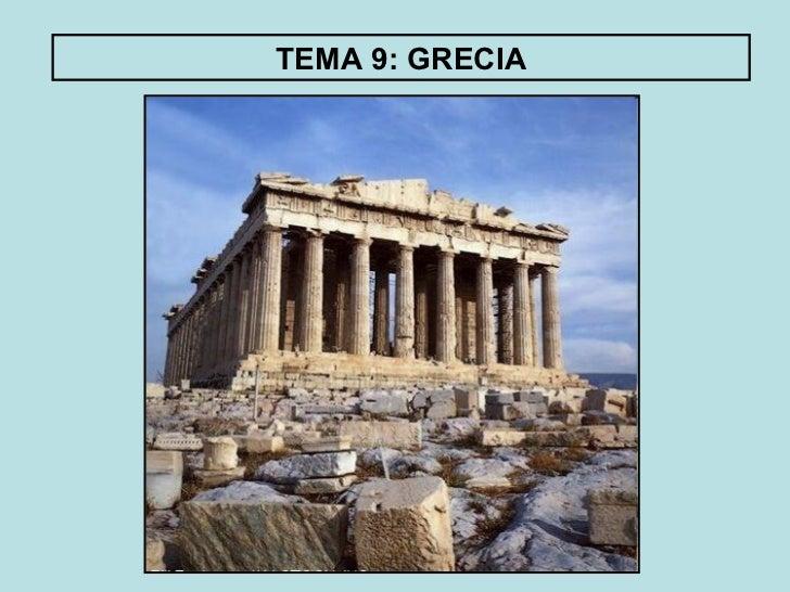 TEMA 9: GRECIA