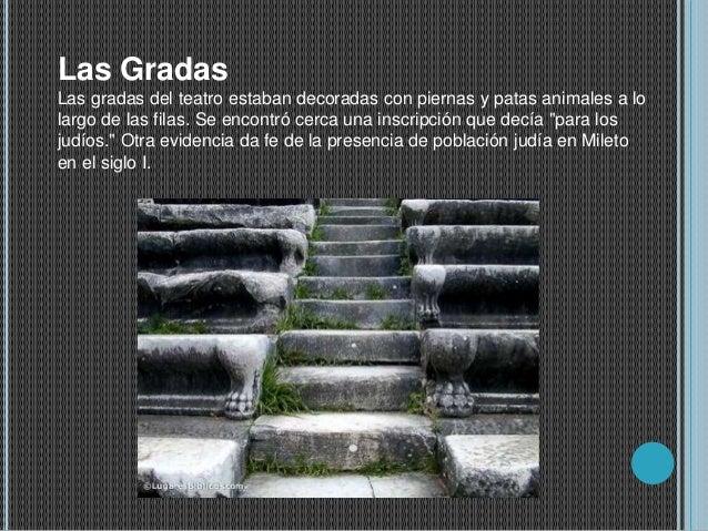 Grecia caracteristicas arquitectonicas de las ciudades for Gradas decoradas