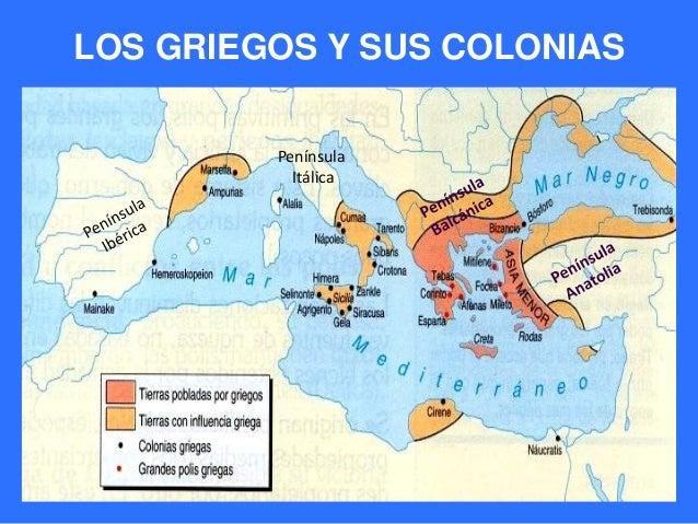 Resultado de imagen para colonias griegas  antiguas