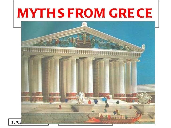 MYTHS FROM GRECE