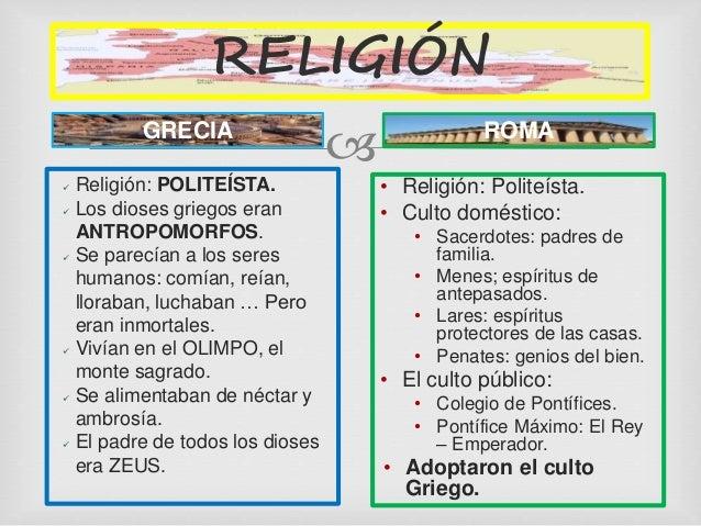 Comparacion Del Matrimonio Romano Y El Actual : ComparaciÓn de las culturas griega y romana