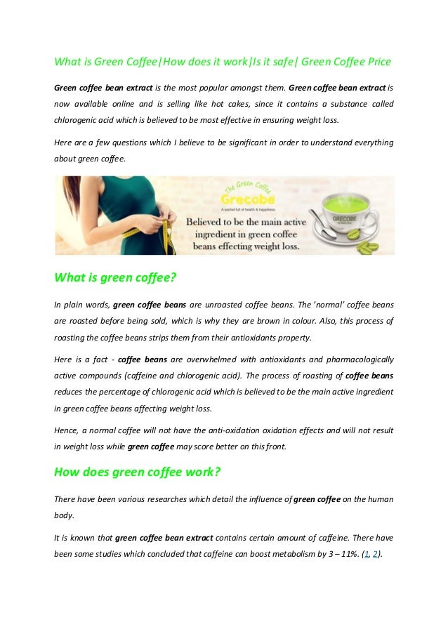 Grecobe Green Coffee Best For Weight Loss
