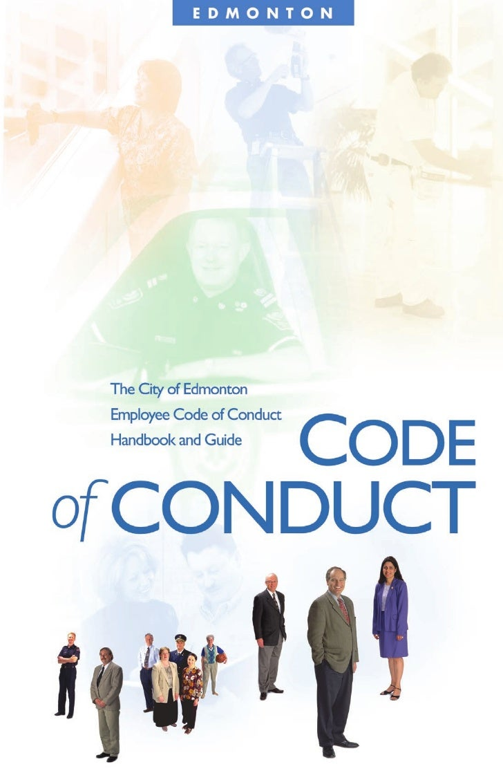 Table of Contents Message From Al Maurer                        2 Why Have a Code of Conduct?                   4 Why Has ...
