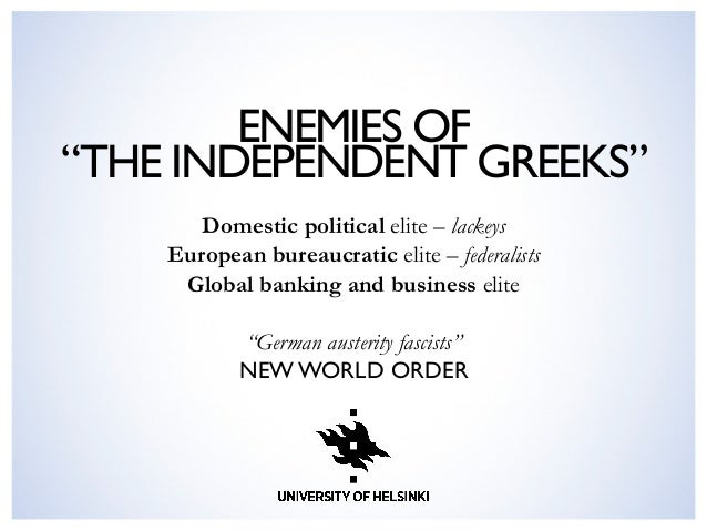 The Adaptability of Populist Discourse: Greece and Finland in Comparison