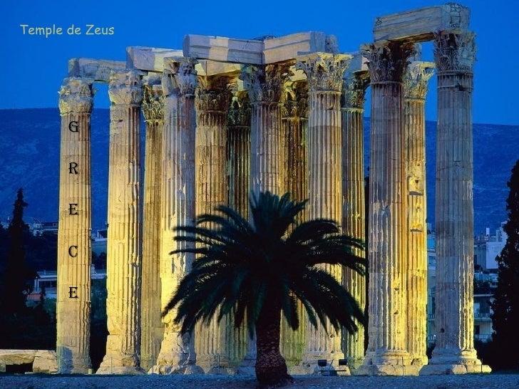 Temple de Zeus       G       R       E       C       E