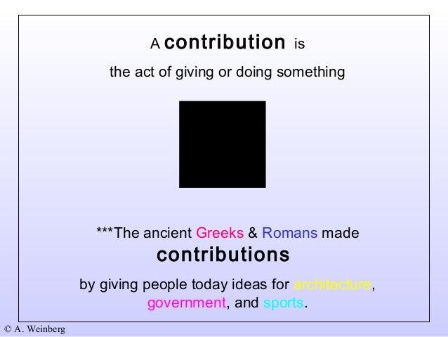 Greek culture vs Roman culture