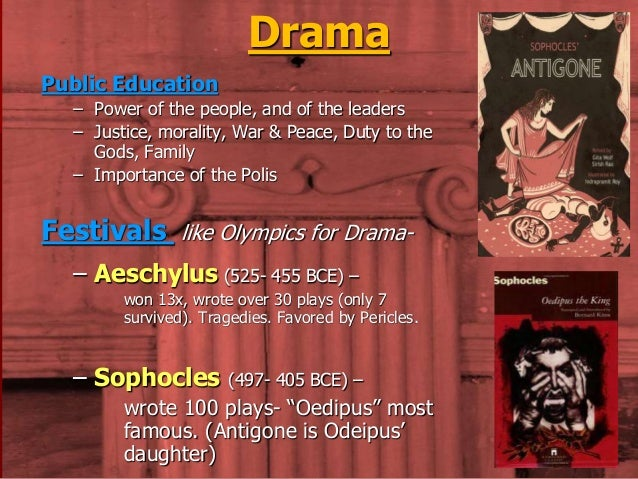 Study Guides on Works by Sophocles