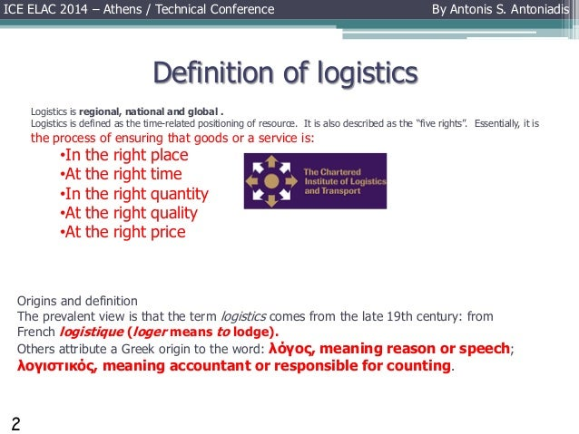 What are logistics definition and meaning - oukas info