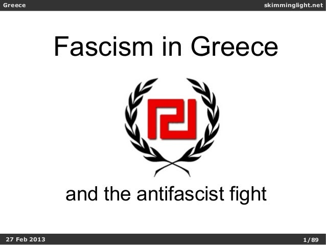 Greece                                skimminglight.net              Fascism in Greece              and the antifascist fi...