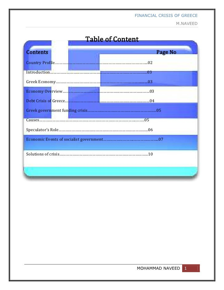 -152400-543560Table of Content<br />Contents                                                                              ...