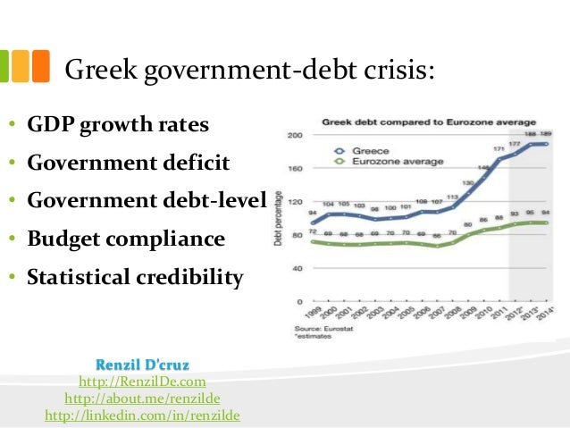 an analysis of the financial crisis of the greek government Clear implications of the greek financial crisis august 12, 2015 no matter how the final negotiations come out around august 20, a number of very central.