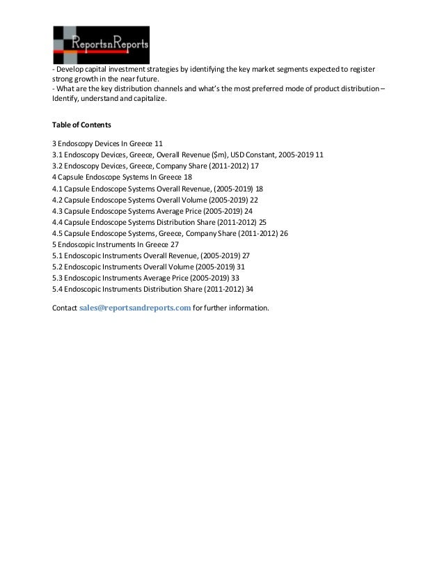 Greece Endoscopy Devices Market Slide 2