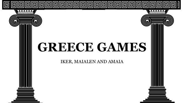 GREECE GAMES IKER, MAIALEN AND AMAIA