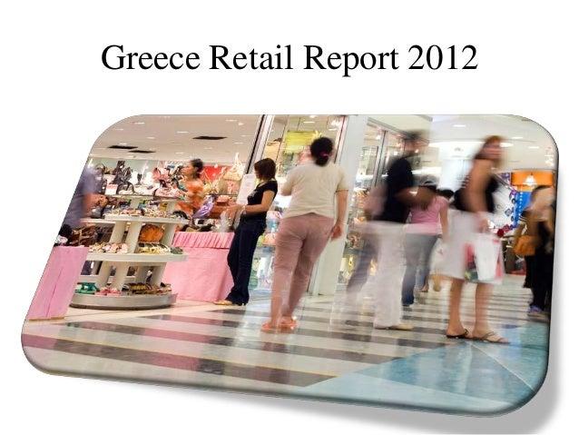 Greece Retail Report 2012