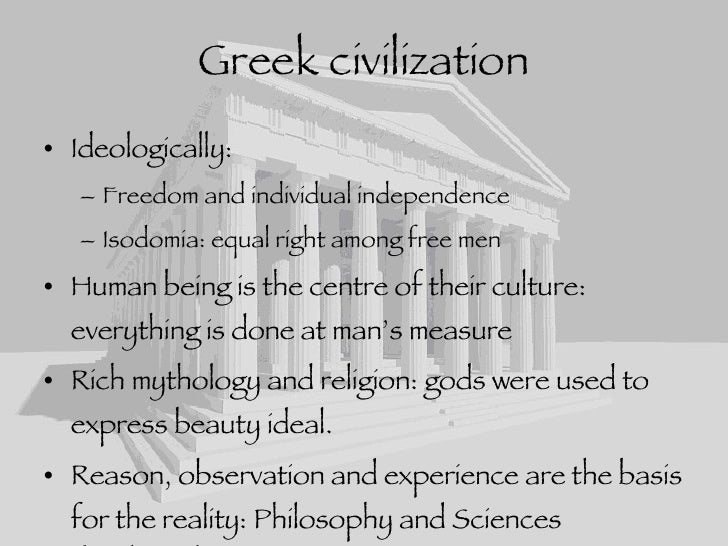 influence of philosophy religion and mythology on greek architecture and art The program focuses not just on greek and roman language and literature but also on material culture (art history and archaeology) on economic, political, social and intellectual history and on philosophy, religion and myth.