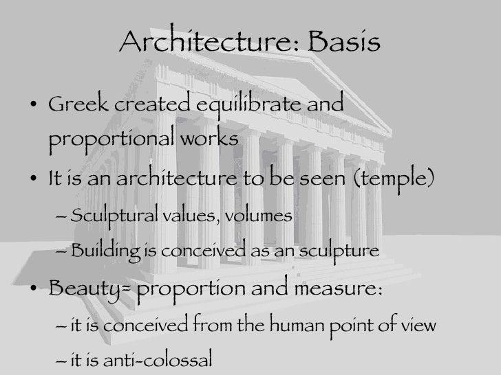 Greek Architecture greek architecture