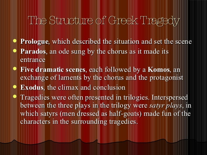 What's a good topic to write on for Greek tragedies?