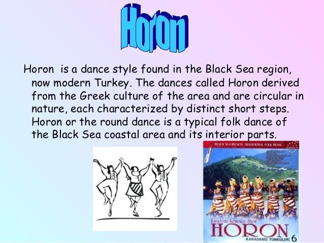 Greek Turkish Common Dances on Round Dancing Steps
