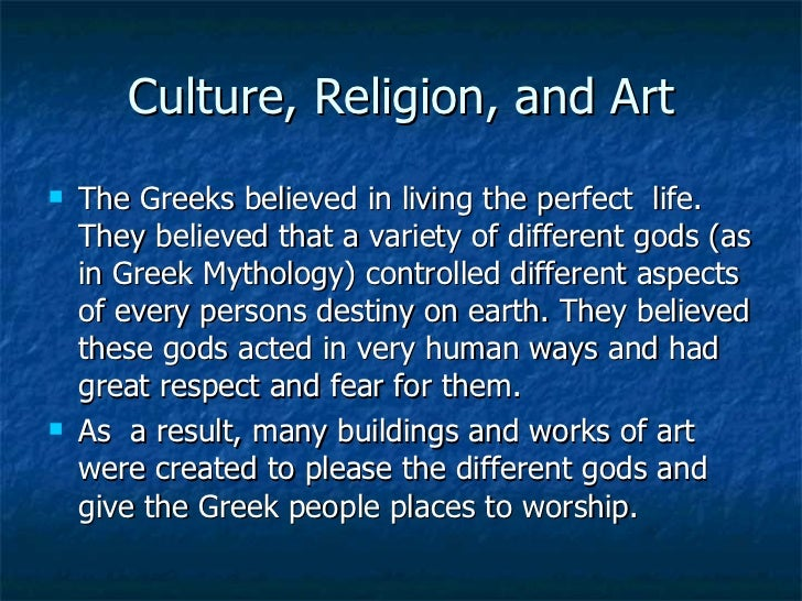 What is one difference between Sumerian and Greek culture?