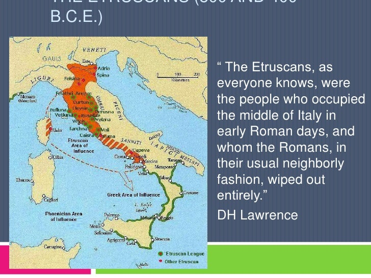 Greek And Romans Etruscans