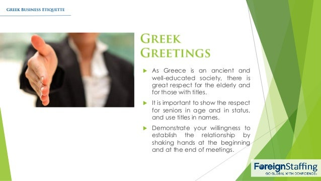 Greek business etiquette 3 reheart Image collections