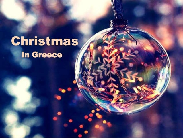 greek christmas - Greek Christmas