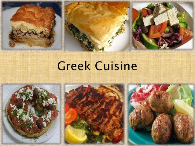 greek cuisine