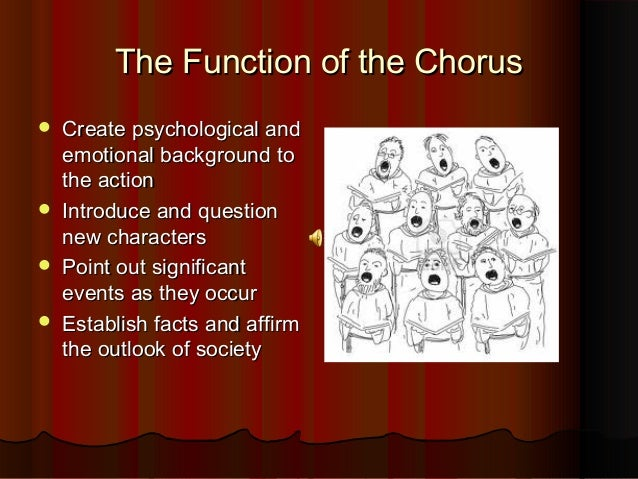 The Function Of Chorus In Oedipus The King