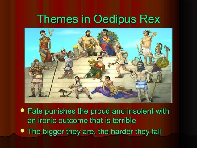 oedipus fate Extracts from this document introduction fate and ignorance in oedipus rex ten works cited oedipus rex is a story that can be interpreted on many different levels.