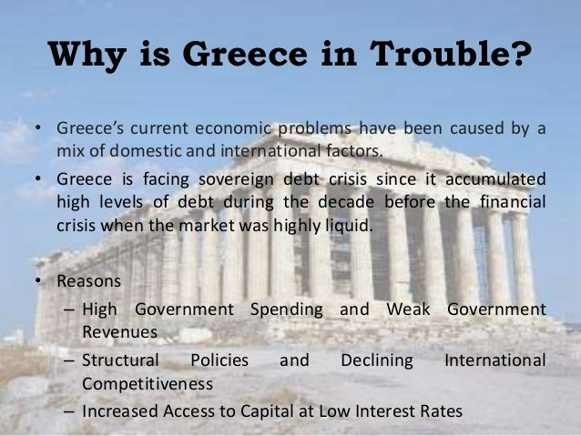 an analysis of the financial crisis of the greek government Even if greece's government manages to strike a last-minute deal with its creditors, it will be hard to get it approved back at home greece's debt negotiations the neverending story.