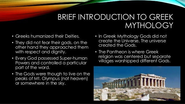 An introduction to greek religion and its origins
