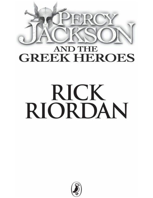 percy jackson's Greekheroes