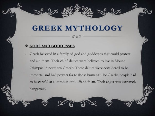 Greek ideas and beliefs