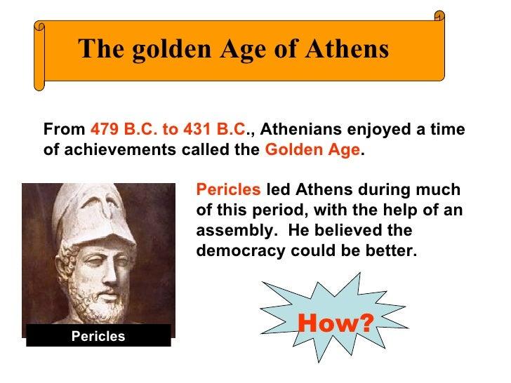 pericles accomplishments