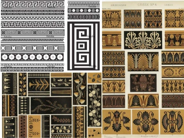 Greek Motifs And Patterns
