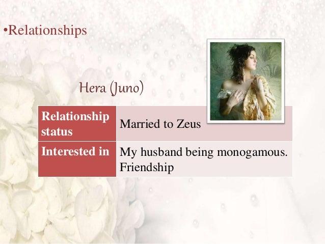 hera zeus relationship