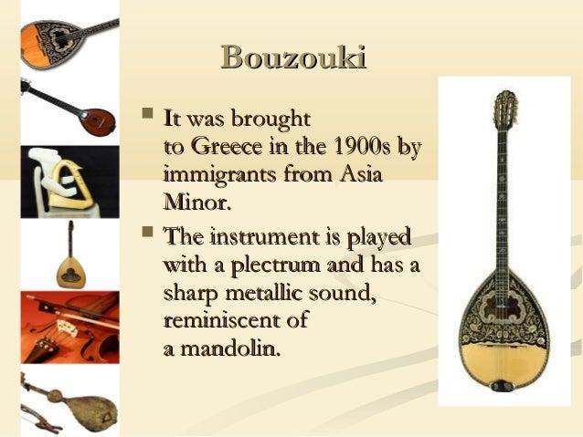 Greek musical instruments