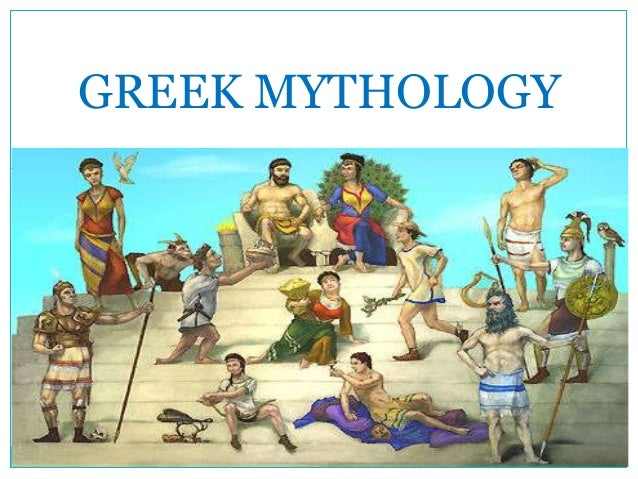 Greek gods and mythology