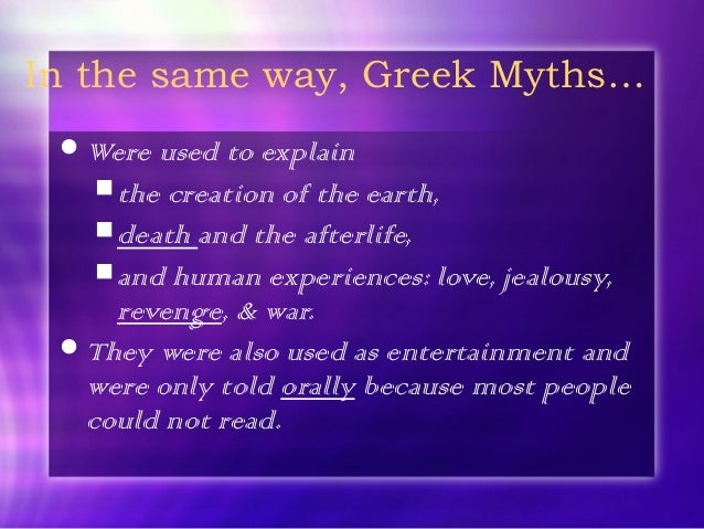an understanding of greek mythology If there is one subject that is still widely taught today, it has to be the subject of ancient greek mythology it isn't just taught as part of a literature.