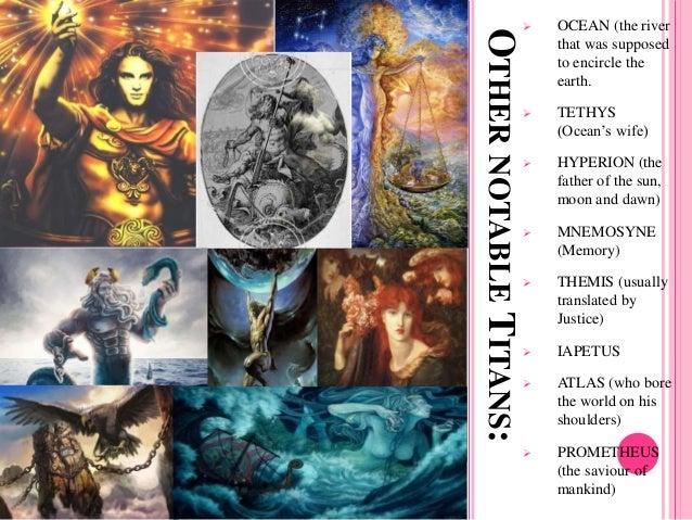 Greek Mythology: Gods and Goddesses (Edith Hamilton)
