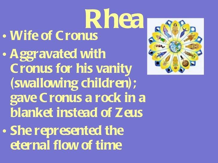 rhea greek mythology facts