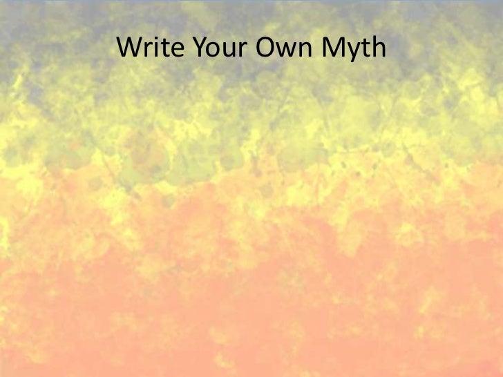 Greek Gods and Goddesses: Creating Your Own Myth