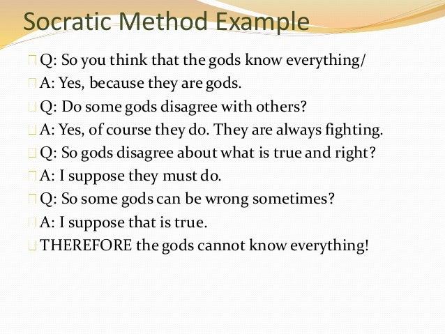 socratic dialogue example