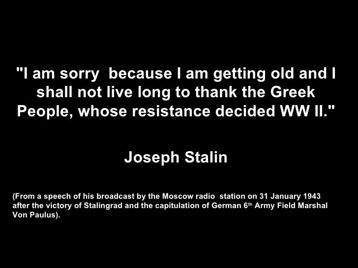Ww Quotes Endearing Greeks In World War Ii