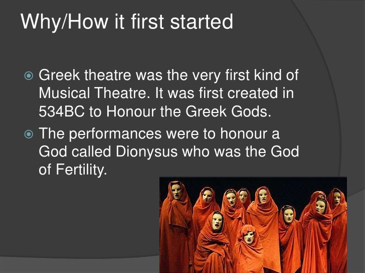 importance of religion in greek drama Now, that being said - the author wrote - my linking of religion and theatre is rooted in the greek theatre, which represents for me an ideal coalescence of drama, music, poetry, dance, and religion.