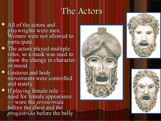 the role of chorus in greek Greek theater honors english 9 the greek chorus sang lyric poetry and danced to musical accompaniment what was a woman's role in greek drama.