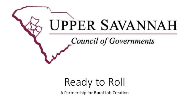 Ready to Roll A Partnership for Rural Job Creation